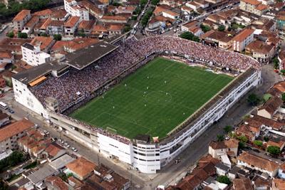 Estádio Urbano Caldeira - Vila Belmiro