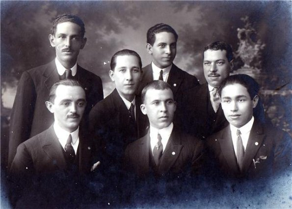 Anselmo Corrêa, Miguel Bataglia, Alfredo Schürig, Antonio Pereira, Felipe Valente, Rafael Perrone e Joaquim Ambrósio