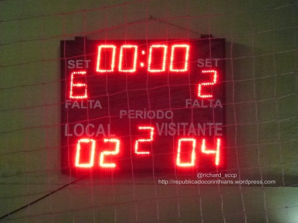 Estadual Sub20 2014 - Final (ida) - G.R. Barueri 2x4 Corinthians