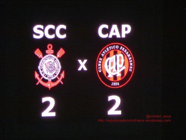 Copa do Brasil Sub20 2014 - 1° fase - Corinthians 2x2 Atlético (PR)