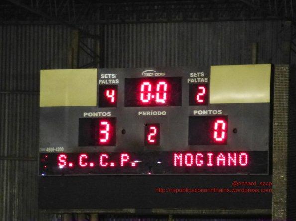 Liga Paulista de Futsal 2014 - 2° fase - 1° rodada - Corinthians 3x0 G.E. MogianoADMAssibraffSmel