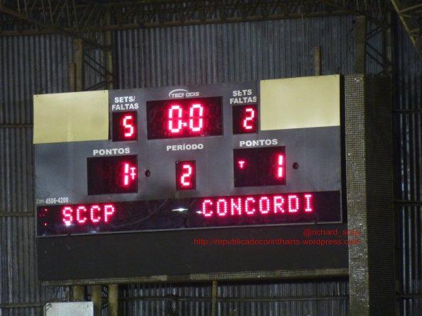 Liga Futsal 2014 - Grupo B - 4° rodada - Corinthians 1x1 Concórdia/Umbro (SC)