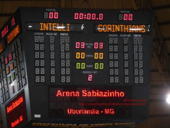 Liga Futsal 2014 - 4° fase - SemiFinal (ida) - Intelli/Orlândia 0x0 Corinthians