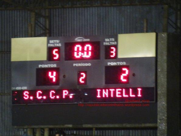 Liga Paulista de Futsal 2014 - 4° fase - Corinthians 4x2 Intelli-Orlândia